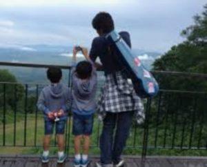 盛田賢司と子供たち