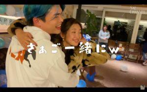 紗栄子と万太郎