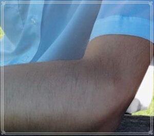 横浜流星の腕毛