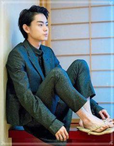 菅田将暉の足毛