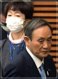 菅相首と山田広報官