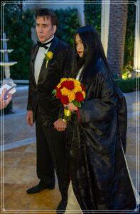 ニコラスケイジと芝田璃子の結婚式
