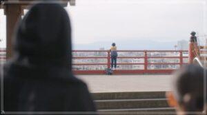 マルコ橋を眺めるレン