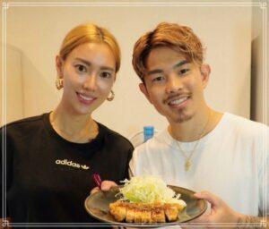 井岡と美人な嫁