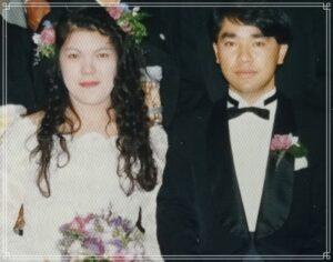 小室佳代の結婚写真