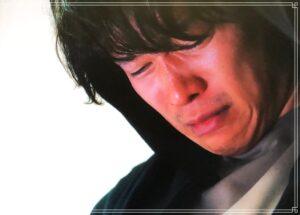 涙を流す清一郎