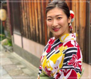 京都を楽しむ池江璃花子