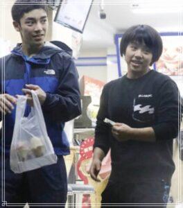 コンビニデートの白井健三と村上茉愛