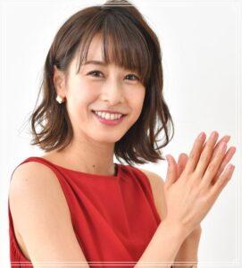 笑顔の加藤綾子アナ