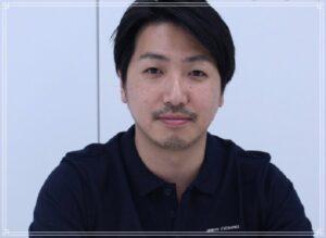 笑顔の岡田英明
